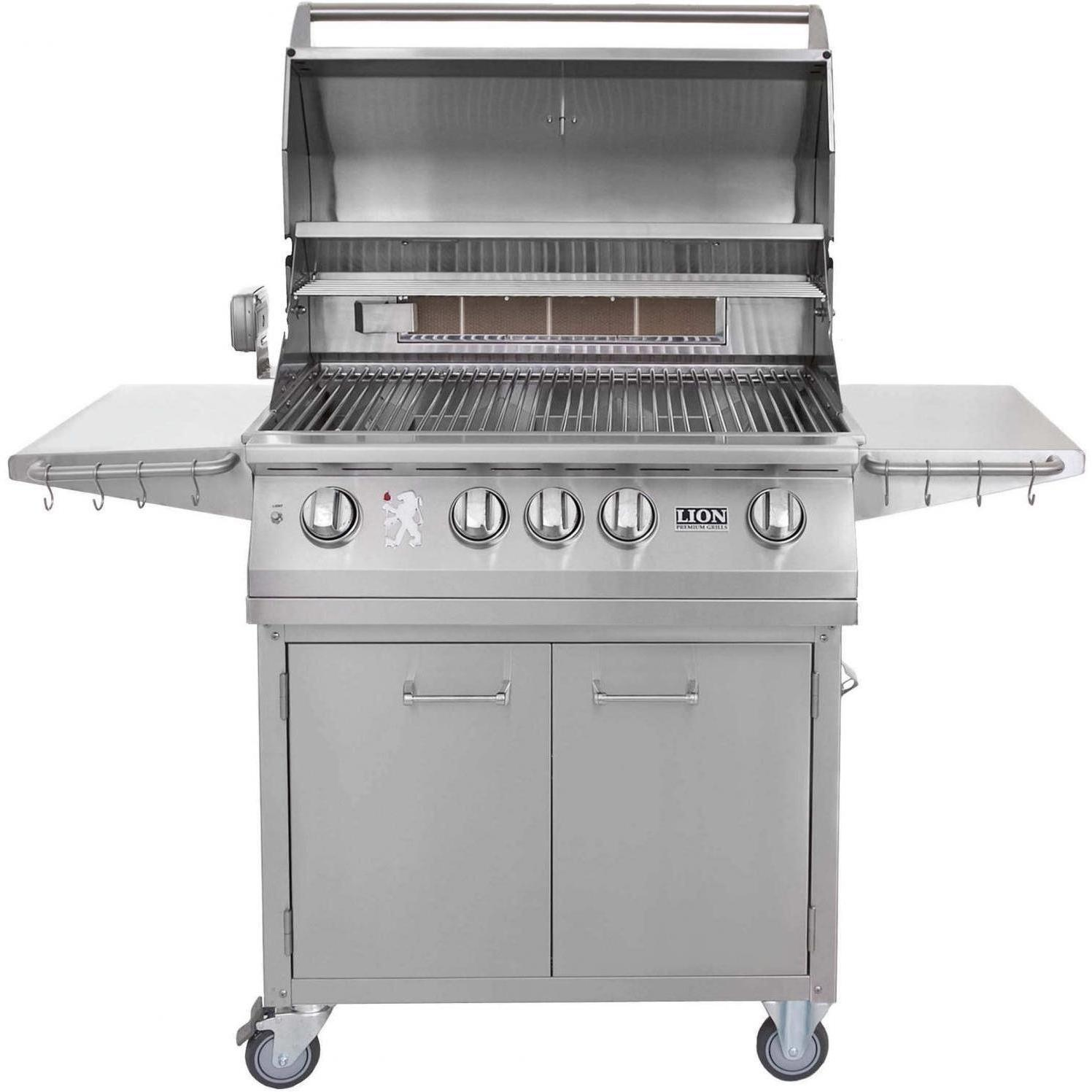 Lion 32 Inch 75625 + 53621 Stainless Steel Propane Gas Grill Review